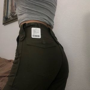 Brand New Urban Outfitters Green Jeans